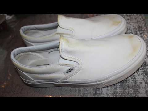 How to clean white vans!!! PART 2**