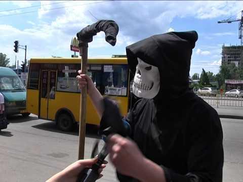 Смерть на Слобожанском проспекте в Днепре