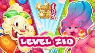Candy Crush Jelly Saga Level 210