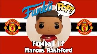 Manchester United football team Marcus Rashford Funko Pop unboxing (Football 17)