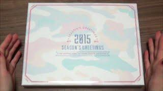 Unboxing BTS (Bangtan Boys) 방탄소년단 2015 Season