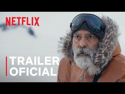 O CÉU DA MEIA-NOITE com George Clooney   Trailer oficial   Netflix