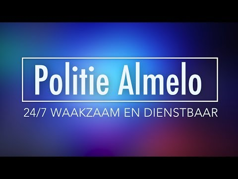 Nachtdienst Politie Almelo
