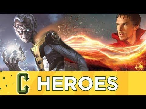 Avengers: Infinity War Behind the Scenes Reveal Doctor Strange Fighting Ebony Maw - Collider Heroes