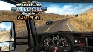 American Truck Simulator Gameplay (PC HD)