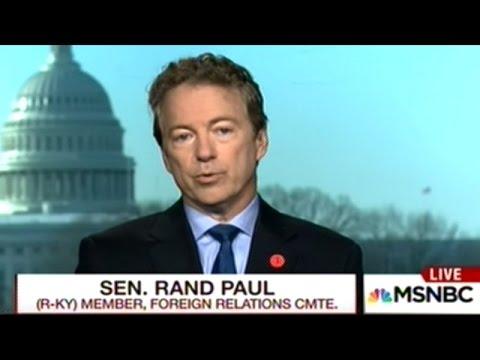 "Rand Paul Calls Senator McCain ""Unhinged And Past His Prime!"""
