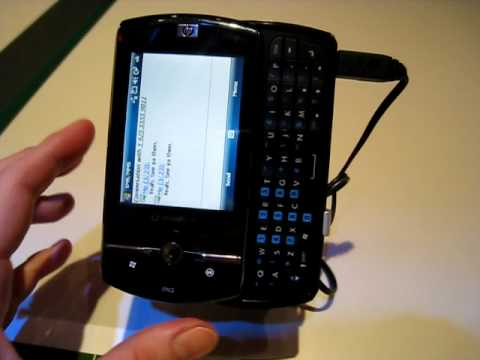 ces 2009 hp data messenger - windows mobile