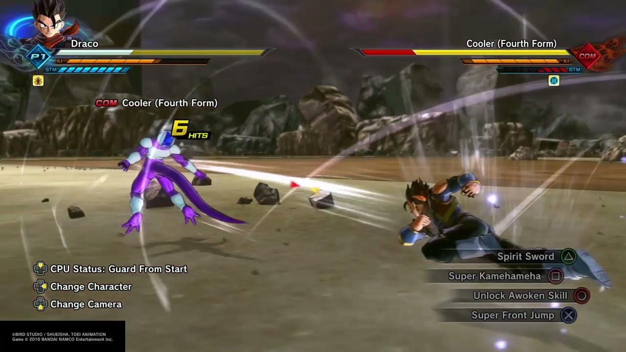 Dragon Ball Xenoverse 2 Combos: \