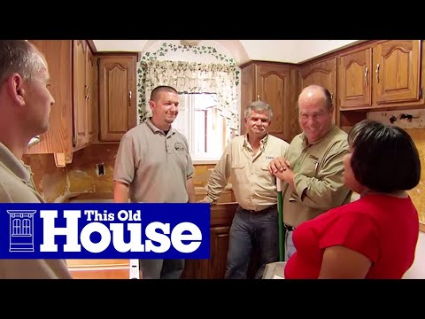 How to Replace a Small Kitchen - This Old House