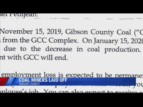 Gibson Co. Coal Mine Will Layoff Employees In January