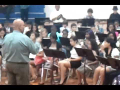 Hodges Bend Middle School begginer band 2011