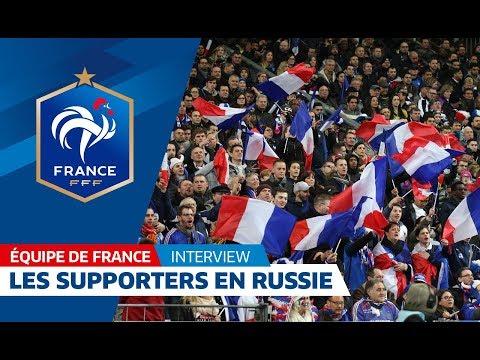Equipe de France : Les supporters en nombre en Russie I FFF 2018