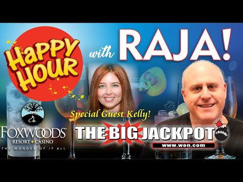 🔴 Live Happy Hour Slot Play from Foxwoods with Raja and Kelly 🤗