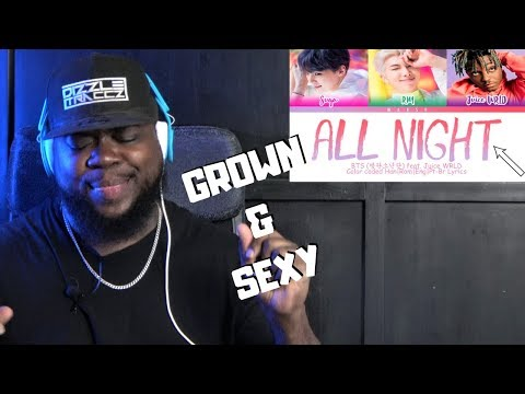 BTS (방탄소년단) 'All Night' (feat. Juice WRLD) Lyric Video Reaction