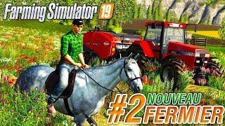 Farming simulator 19   Nouveau Fermier #2   Des chevaux et des bottes !