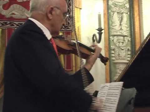 Il maestro Salvatore Accardo suona La Campanella col cannone di Paganini