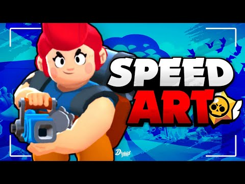 Speed Art - Header Brawl Stars || Photo Editor - Android || @DR0IDGAMES