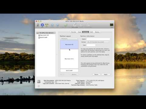 How To Set Up New Partition For Mac OS X Beta Without Erasing File Data