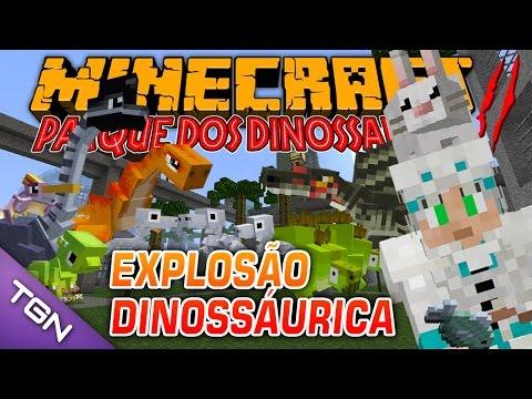Minecraft Parque dos Dinossauros II :: Ep 30 :: EXPLOSÃO DINOSSÁURICA