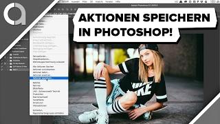Photoshop Aktionen sichern & installlieren / caphotos.de