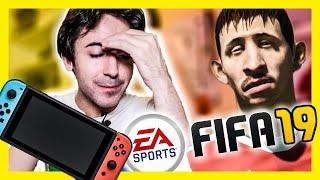 NINTENDO SWITCH: NO COMPRES FIFA 19... A MENOS QUE TE GUSTE LA SAGA... thumbnail
