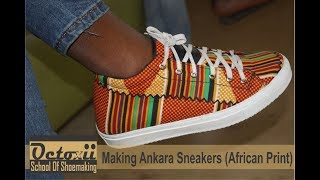 Download Video Making Ankara Sneaker (African Print) MP3 3GP MP4