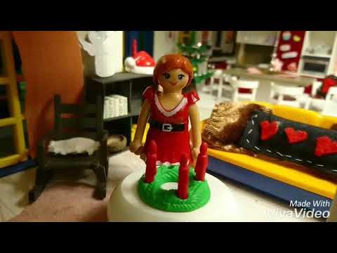 3 Advent Tischdeko Weihnachten Playmobil Familie