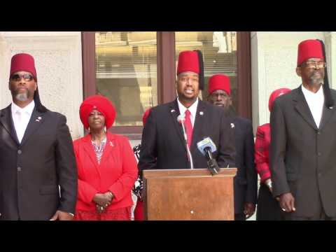 Moorish American Press Conference: City Hall Philadelphia Pa