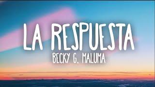 Play La Respuesta (feat. Maluma)