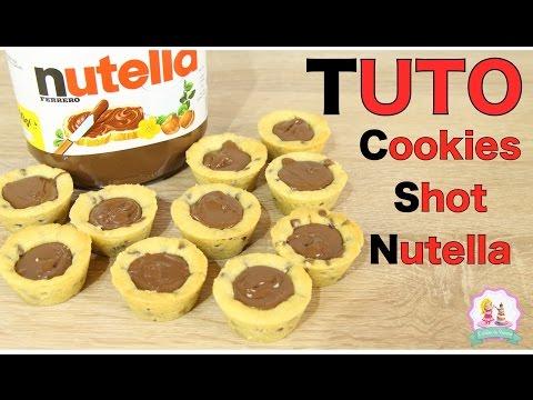 ♡•-recette-cookies-shot-au-nutella---facile-et-rapide-•♡