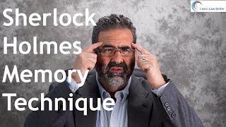 Sherlock Holmes Memory Technique