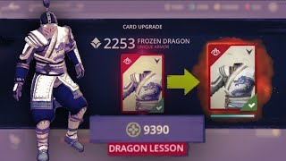 Shadow Fight 3 Official || Frozen Dragon Upgrade Unique Item At Dragon Lessons