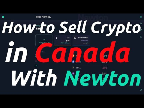 How to Cash Crypto Out in Canada With Newton