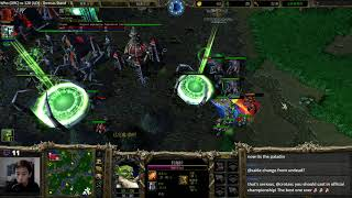120 (UD) vs WHO (Orc) - WarCraft 3 - Highly Recomment - WC2221