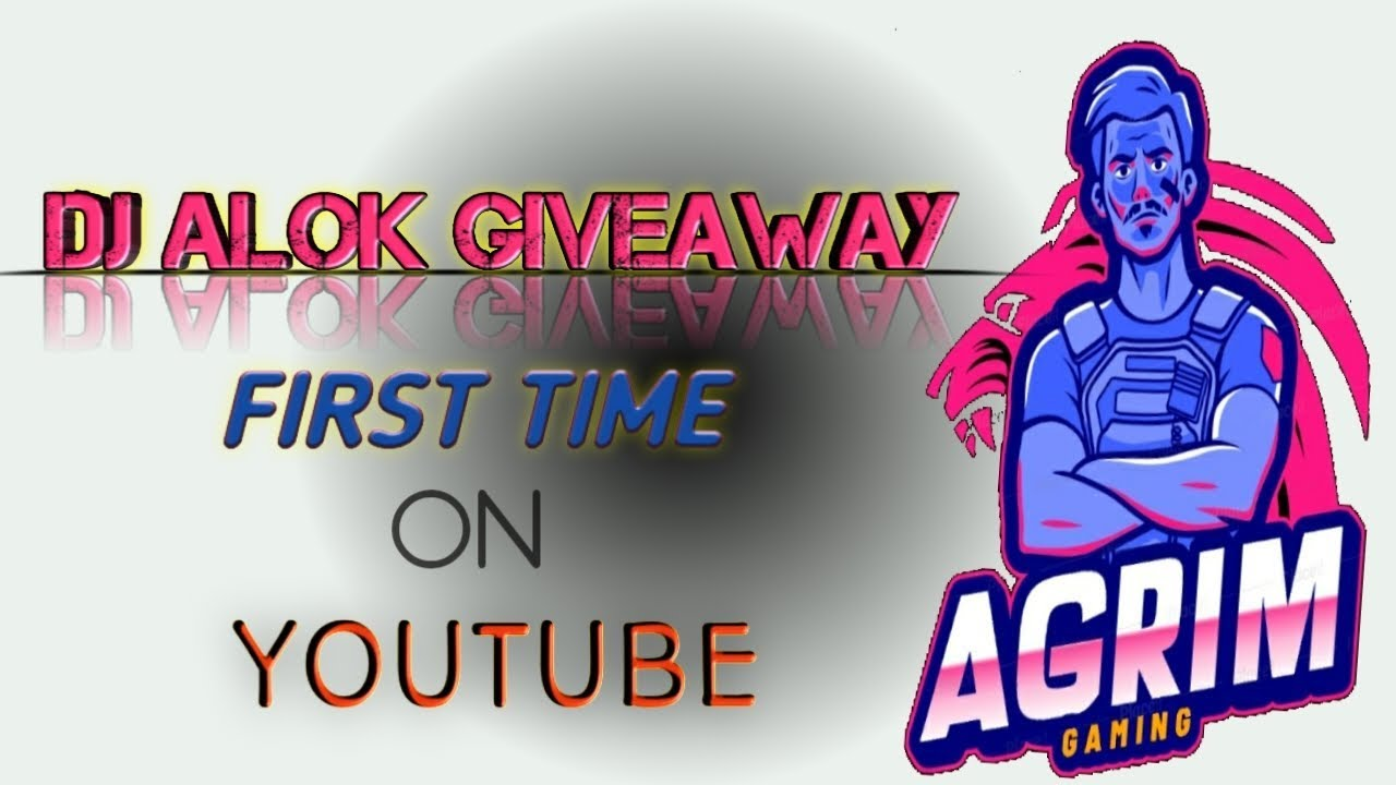 FREE FIRE DJ ALOK GIVEAWAY AND LIVE STREAMING EXPERIENCE BY AGRIM CHOUDHARY.