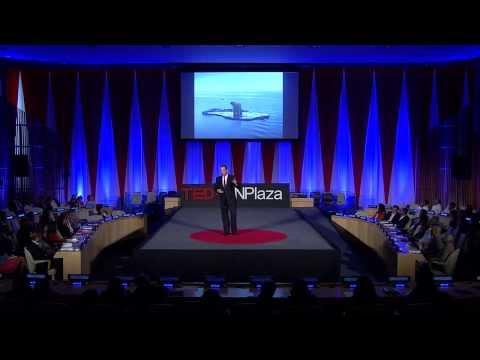 Leadership on the edge: Robert Swan at TEDxUNPlaza