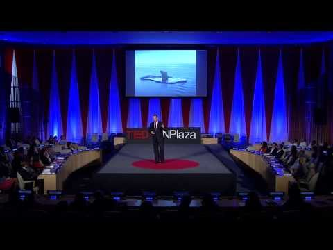 Leadership on the edge: Robert Swan at TEDxUNPlaza