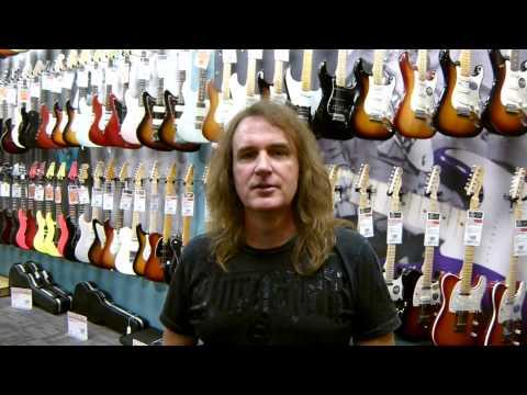DAVE ELLEFSON says DaveTV rocks - at Guitar Center, Austin, Tx. September 9, 2013