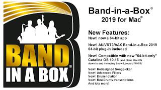 band-in-a-Box 2019 for Mac - Everything you need to know in under 6 minutes! (plus the 49-PAK!)