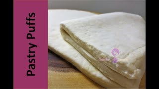 Easy Puff Pastry Sheets | Tutorial for easiest, fastest way to make Puff Pastry Sheets