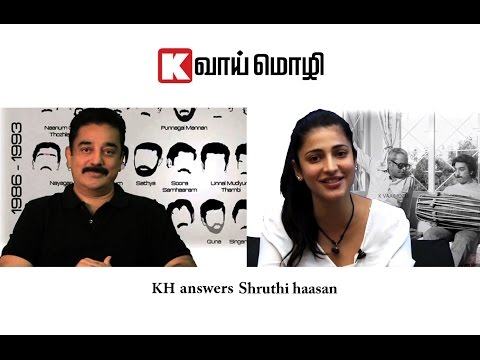 KH answers Shruti Haasan
