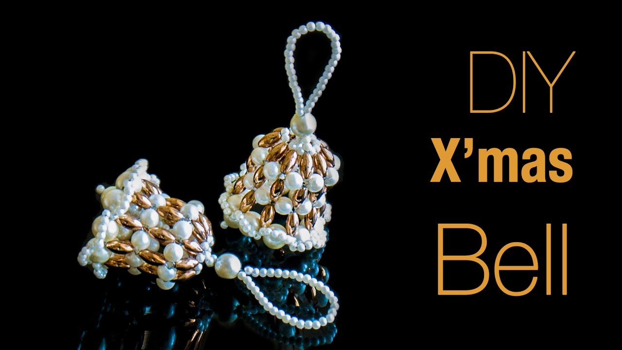 4 Diy Christmas Earrings In Minute 2019 How To Make Santa Jingle Bells Bulb Earrings Beads Art Youtube