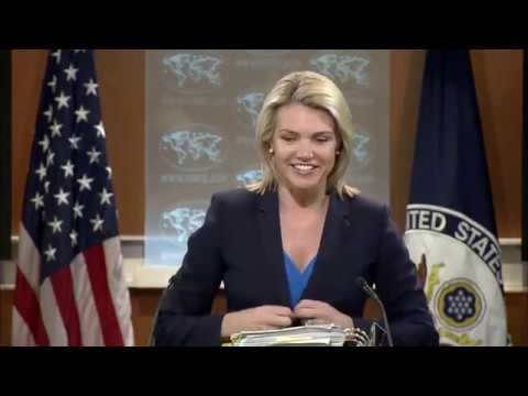 Heather Nauert State Department Press Briefing On Donald Trump Jr Russia Meeting 7/11/17