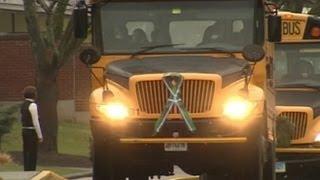 Newtown Children Return to School After Sandy Hook Massacre