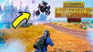 OMG ម៉ូតូចេះហោះ! Flying Motorbike - PUBG MOBILE KHMER #06