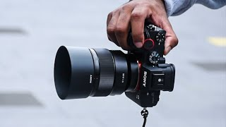 BEST Sony Lens for PORTRAIT and STREET Photography   Sony FE 85mm f/1.8