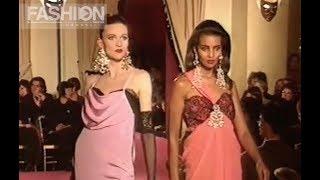 CHRISTIAN LACROIX Spring Summer 1991 Paris   Fashion Channel