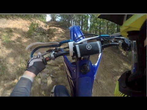 Repeat YZ250X jetting test with fmf gnarley and turbinecore