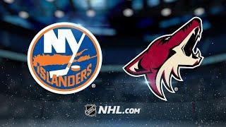 Аризона - Айлендерс. Прогнозы на НХЛ. Прогнозы на спорт. Прогнозы на хоккей. Ставки на НХЛ