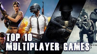 Top 10 Multiplayer Games (2018) -PC